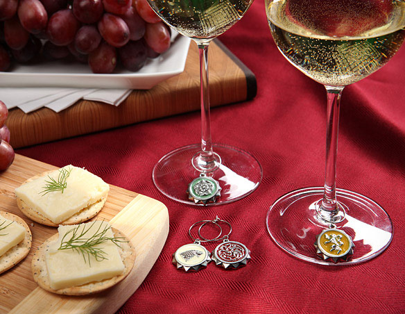 Game of Thrones House Wine Charms