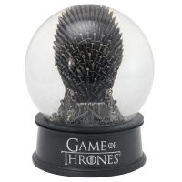 Game of Thrones Iron Throne Musical Snow Globe