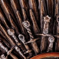 Game of Thrones Iron Throne Tankard Detail