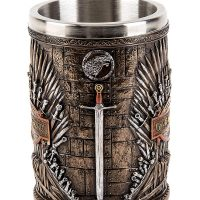 Game of Thrones Iron Throne Tankard Front