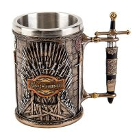 Game of Thrones Iron Throne Tankard Side