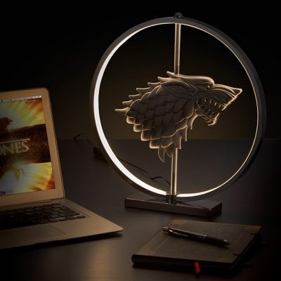 Game of Thrones LED Stark Crest Lamp