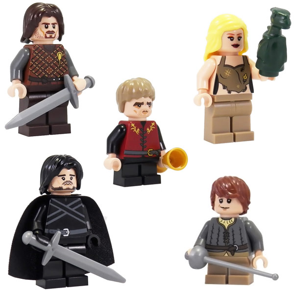 Game of Thrones LEGO Minifigures