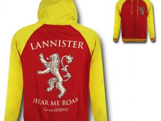 Game of Thrones Lannister Hoodie Sweatshirt