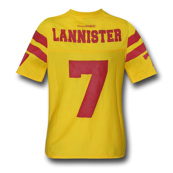 Game of Thrones Lannister Jersey