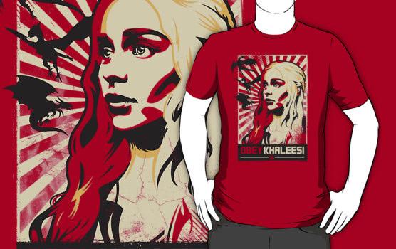 Game of Thrones Obey Khaleesi TShirt