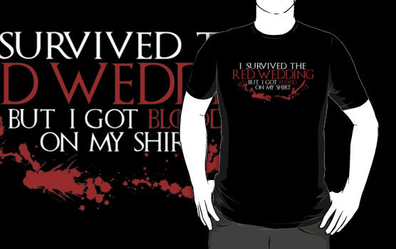 Game of Thrones Red Wedding Shirt