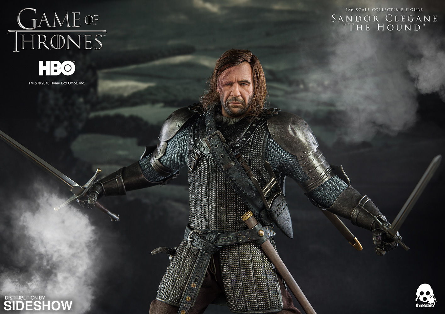 """Game of Thrones Sandor Clegane """"The Hound"""" Sixth Scale Figure"""