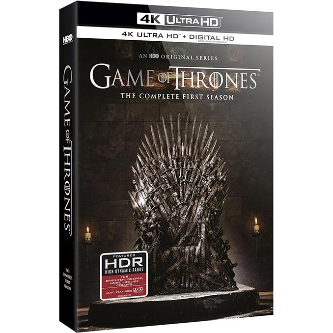 Game of Thrones: Season One 4K Blu-ray
