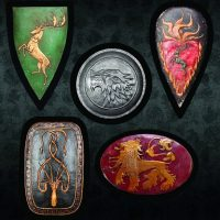 Game of Thrones Shield Magnet Set