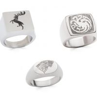 Game of Thrones Sigil Rings