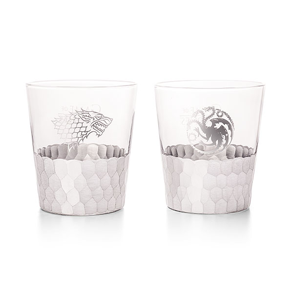 Game of Thrones Silver Tumbler Set of 2
