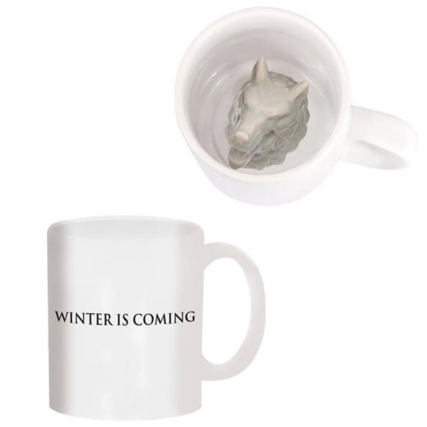 Game of Thrones Stark Direwolf Sculpted Mug