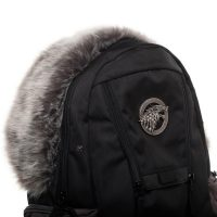 Game of Thrones Stark Faux Fur Backpack Detail