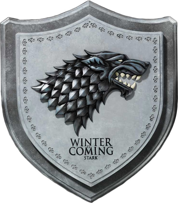 Game Of Thrones Stark House Crest Wall Plaque