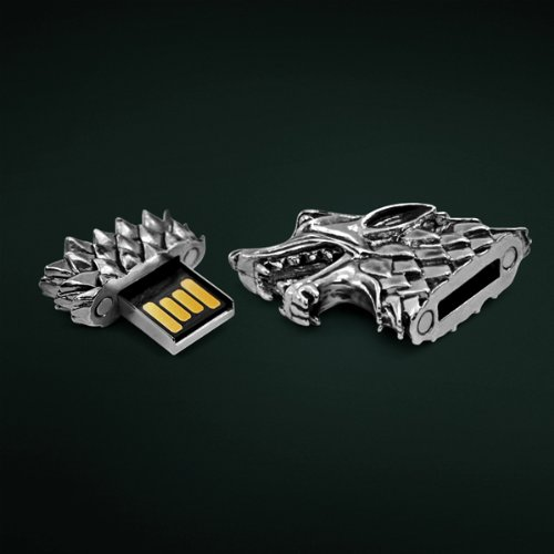 Game of Thrones Stark Sigil Direwolf USB Flash Drive - 64GB
