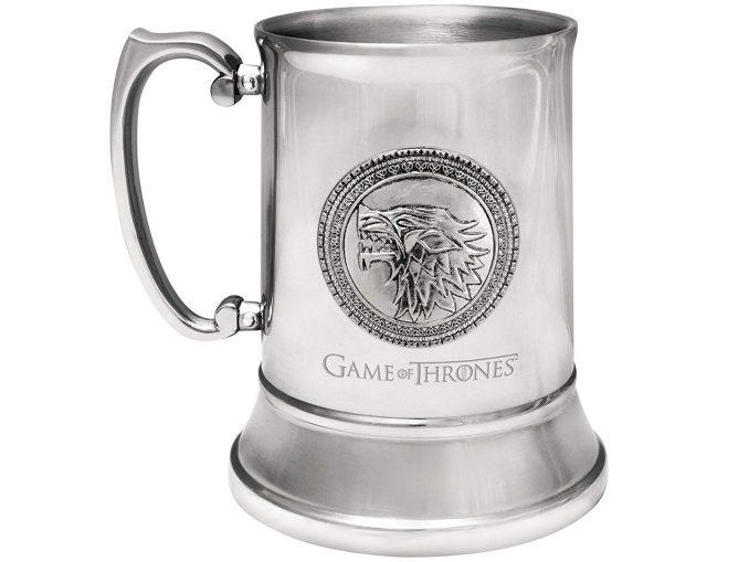 Game of Thrones Stark Stainless Steel Stein