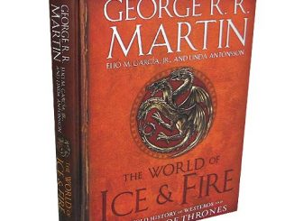Game of Thrones The World of Ice & Fire The Untold History of Westeros Hardcover Book