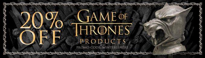Game of Thrones ThinkGeek Promo Code