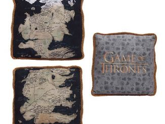 Game of Thrones Westeros Map Throw Pillow Case