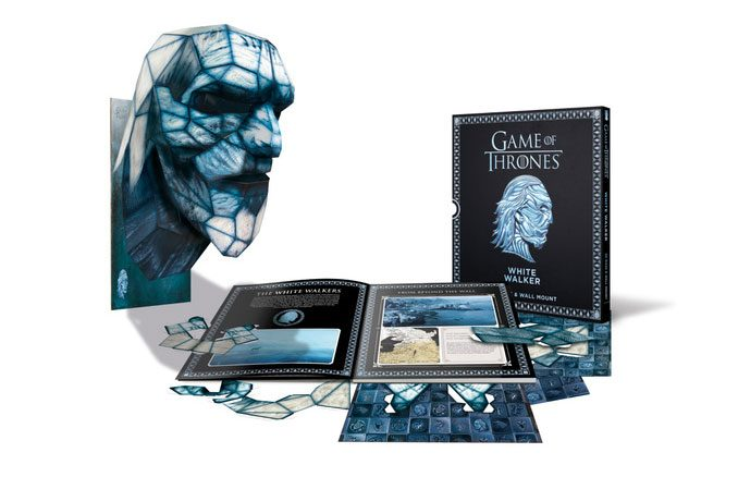 Game of Thrones White Walker Paper Mask Book