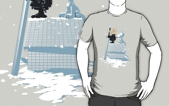 Game of Thrones Winter Peanuts Shirt