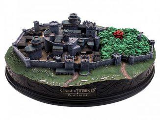 Game of Thrones Winterfell Desktop Sculpture