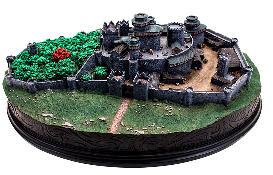 Game Of Thrones Winterfell Desktop Statue