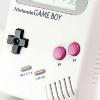 Gameboy Alarm Clock Detail