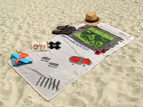 Gameboy Beach Boy Towel