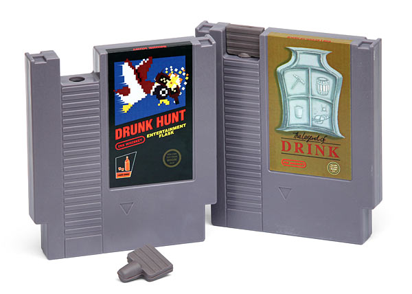 Gaming Cartridge Flasks