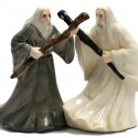Gandalf and Saruman Salt and Pepper Shaker Set