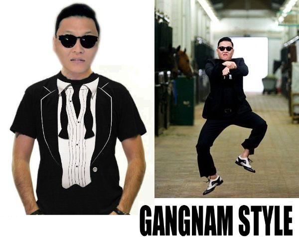 Gangnam Style Tux T-Shirt