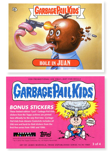 Garbage Pail Kids Book