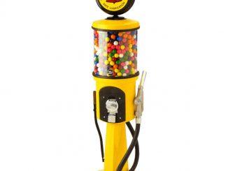 Gas Pump Gumball Machine