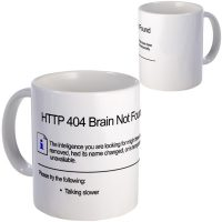 Geek 404 Error Mug