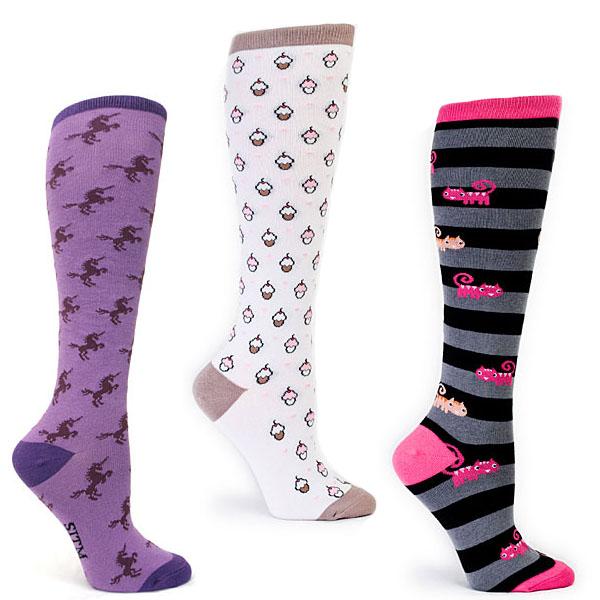 Geek Ladies Knee Socks
