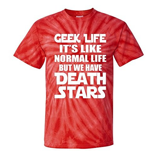 Geek Life Is Normal But We Have Death Stars T-Shirt