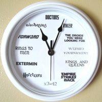 Geek Nerd Clock