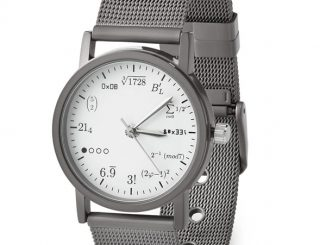 Geek Stainless Steel Wrist Watch
