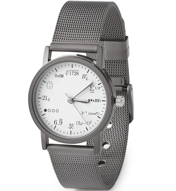 Geek Stainless Steel Wrist Watch