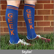 Geek Statement Knee High Socks