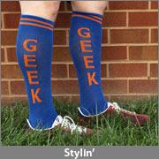 Geek Statement Knee High Socks