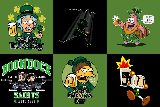 Geeky St. Patrick's Day T-Shirts
