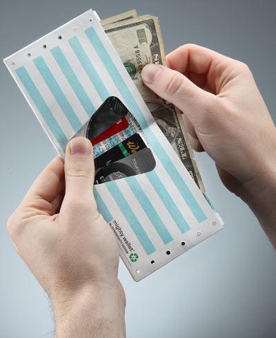 Geeky Tyvek Wallets