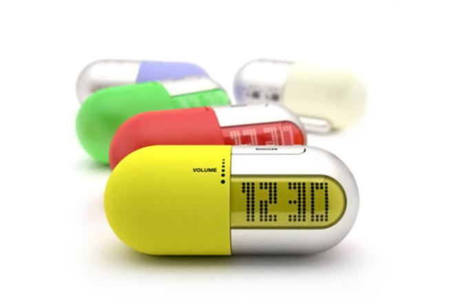 Gelule Clock Radio