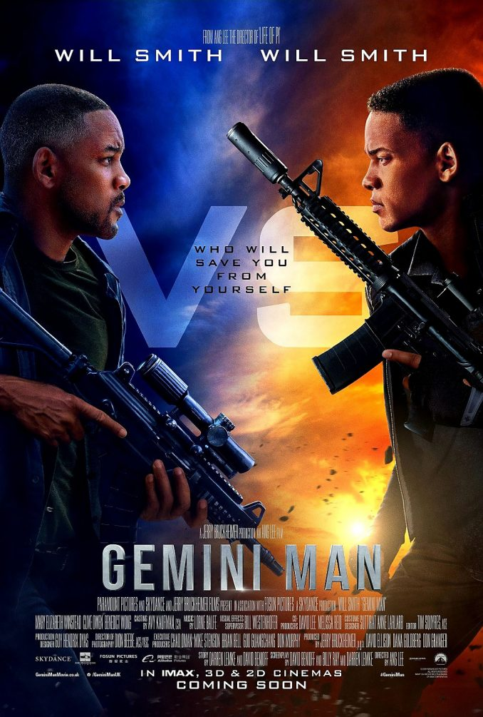 Gemini Man Teaser Poster
