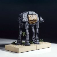 Gentle Giant Star Wars AT-ACT Walker Bookend Set