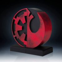 Gentle Giant Star Wars Imperial Rebel Insignia Bookends