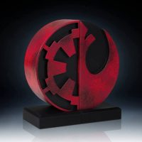 Gentle Giant Star Wars Imperial Rebel Seal Bookends